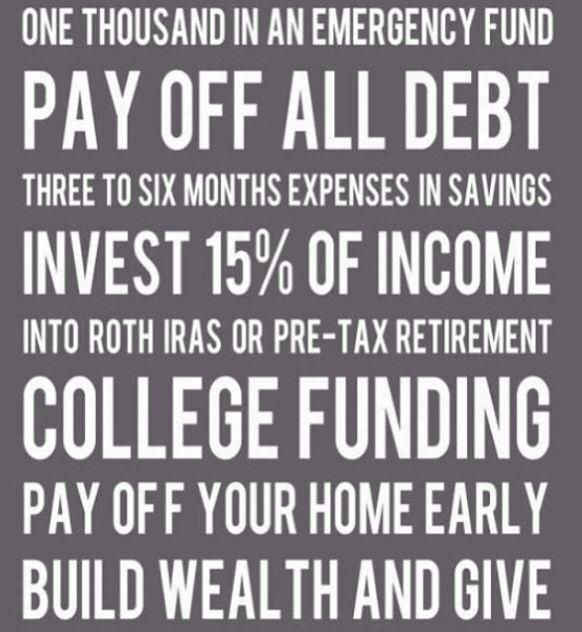 Dave Ramsey - Money #Goals payoff debt tips, debt payoff tips #debt #debtfreedom