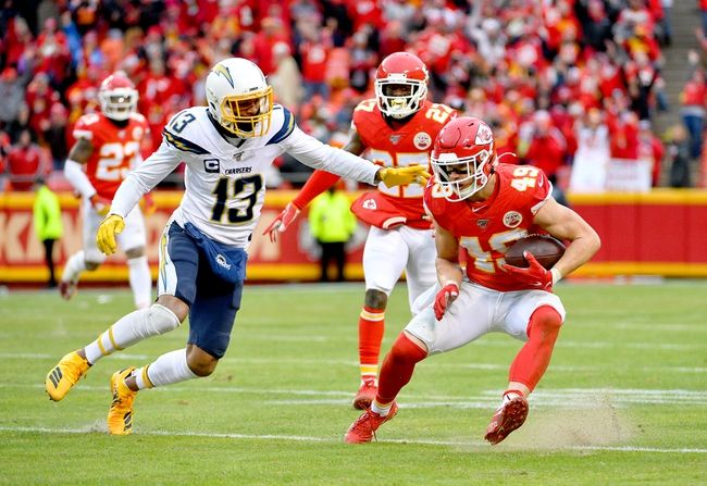 Kansas City Chiefs At Los Angeles Chargers 9 20 20 Nfl Picks And Prediction In 2020 Los Angeles Chargers Kansas City Chiefs Nfl