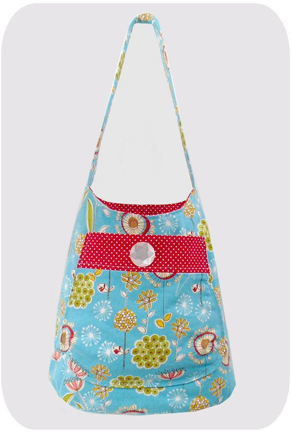 how to make a sling bag out of fabric