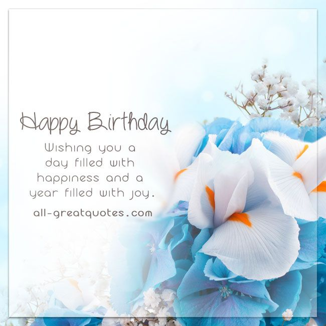 The 25+ best Free birthday wishes ideas on Pinterest | Free ...