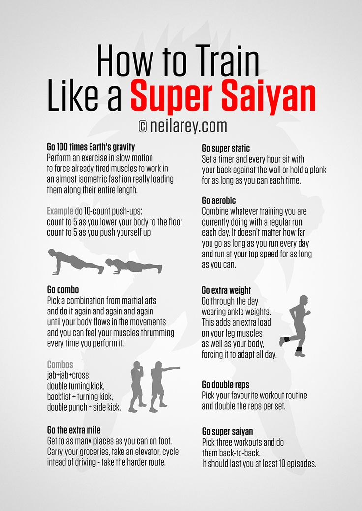 How to Train Like a Super Saiyan