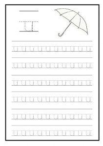 Lowercase Letter U Worksheet Free Printable Preschool And