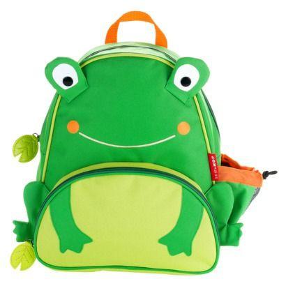 Skip Hop Zoo Pack Little Kids & Toddler Backpack  Frog $19.99