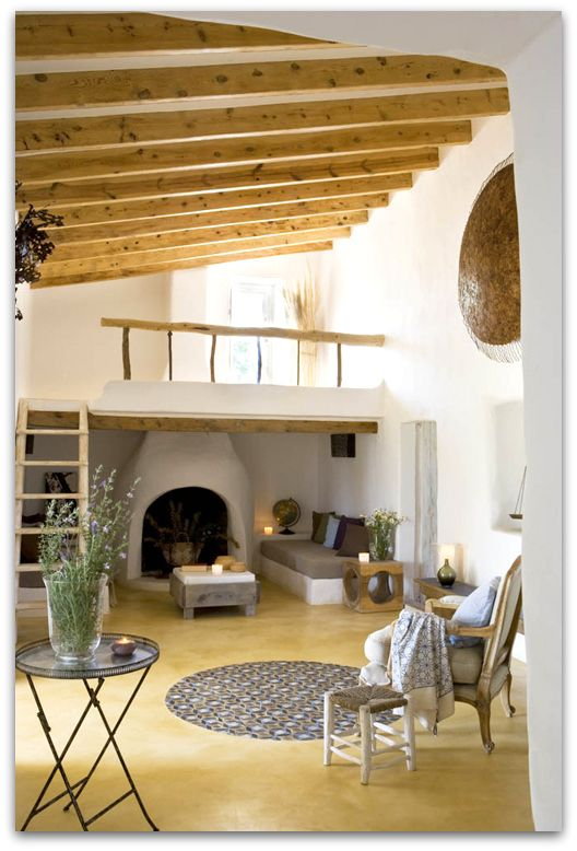 a gorgeous house at Formentera Spain. I like the openness