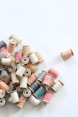 pretty thread spools