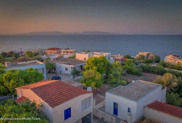 Sunset time in Vagia, Aegina