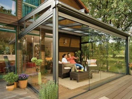 Glass enclosed patio | Outdoor Spaces | Pinterest | Sliding doors, Glasses  and Design - Glass Enclosed Patio Outdoor Spaces Pinterest Sliding Doors