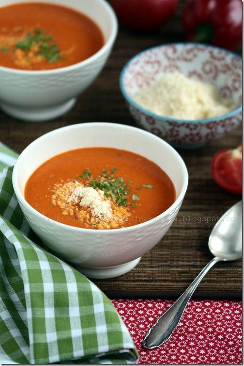 kuchnia pełna smaków: Wyjątkowa zupa z pomidorów Billa Grangera.