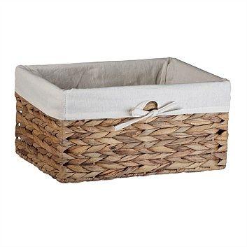 Storage Baskets & Boxes - Briscoes - Storage Basket Adra Honey S3