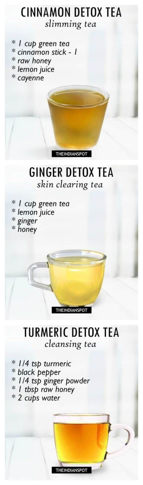 Herbal Detox Teas