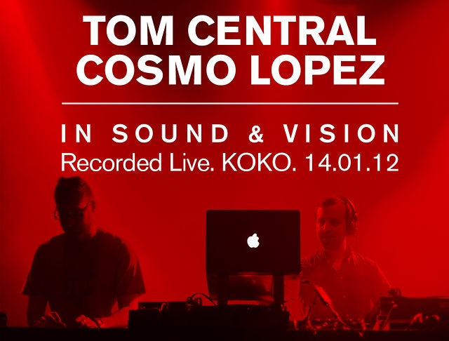 Tom Central & Cosmo Lopez. Live at KOKO. Teaser 3 min movie by Keep Up! Records. This is a short film of the Keep Up! Records A/V Show at KOKO, London, Saturday 14.01.12. Tom Central & Cosmo Lopez performing on two turntables, a laptop and some extra gadgets bringing their In sound and vision show to life at Videocrash.