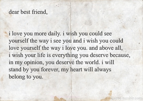 long best friend letters that make you cry dear best friend quotes quotes dr who 23462 | a13b5978f67d01c0b11e49824789eda9