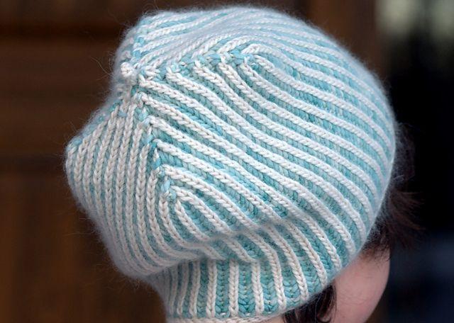 Ravelry: Anmarie's Brioche Hat - free pattern