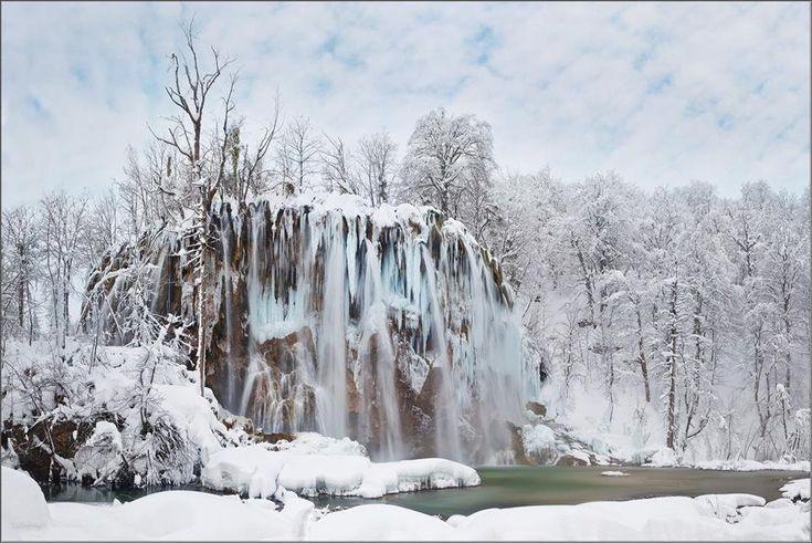 Mesevilággá dermedt Horvátországban a Plitvicei-tavak vidéke | Zacc - minden, ami már leülepedett bennem...