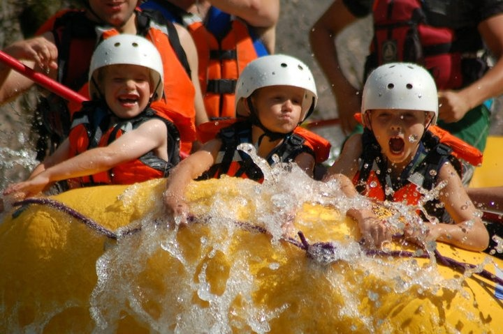 Great kid friendly activity! Toby Creek River Rafting