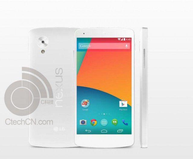 White Google Nexus 5 duikt op! http://www.techfreaks.nl/2013/10/20/witte-nexus-5-uitvoering-duikt-op/