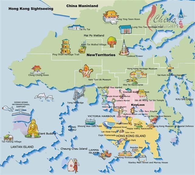 majors attractions in Hong Kong