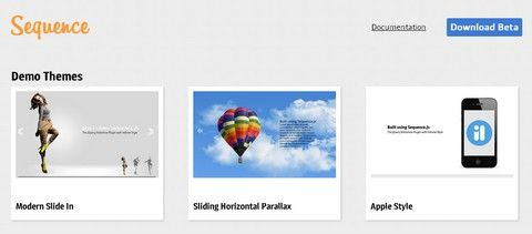 jQuery Slider Plugin with Infinite Style sequence.js