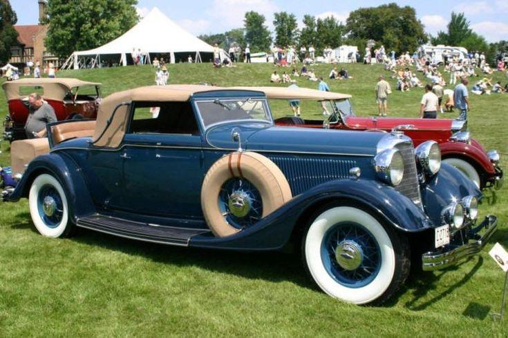 1933 Lincoln KB Convertible