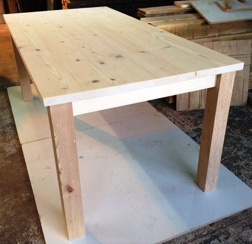 Made to order oak table