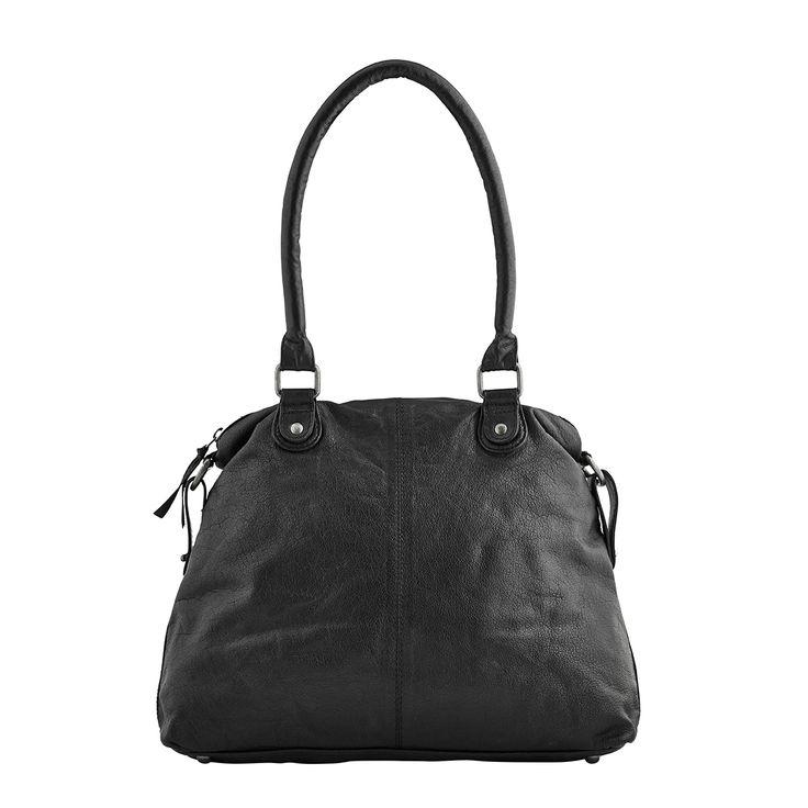 Urban Choice, medium bag, style 11130. Black.