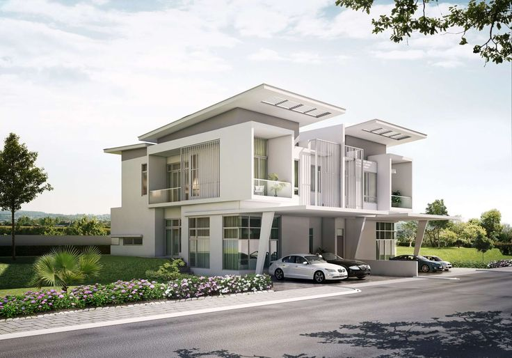 Modern Houses Exterior - Home Design Ideas and Pictures