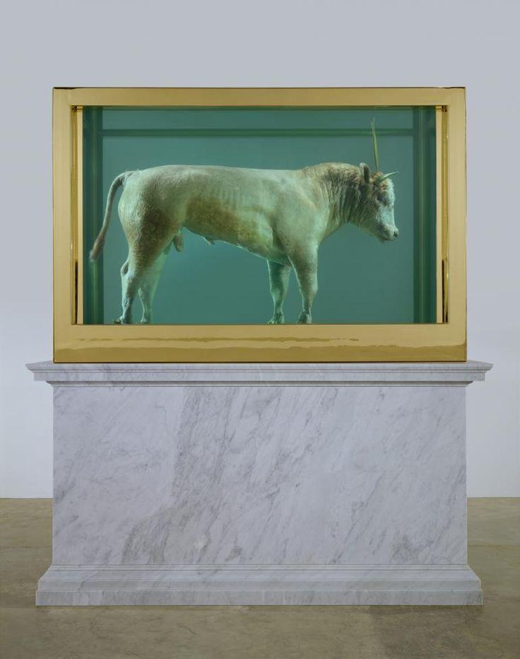 Damien Hirst - The Golden Calf