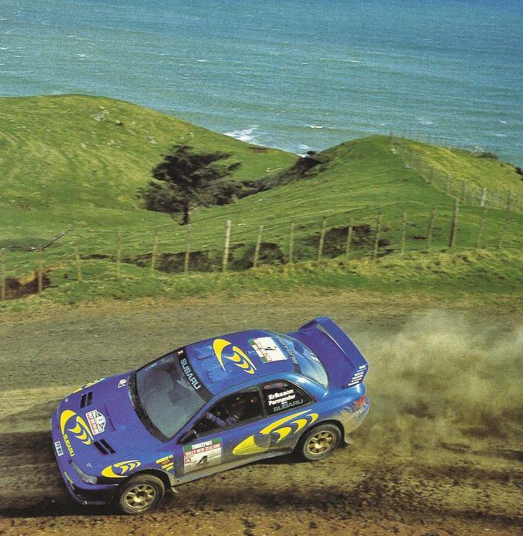 Subaru WRC New Zealand Rally