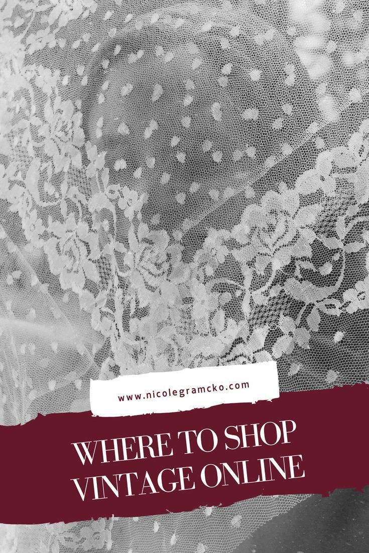 8 Places To Shop For Secondhand Vintage Clothing Online Vintage Clothing Online Fashion Trend Board Vintage Outfits