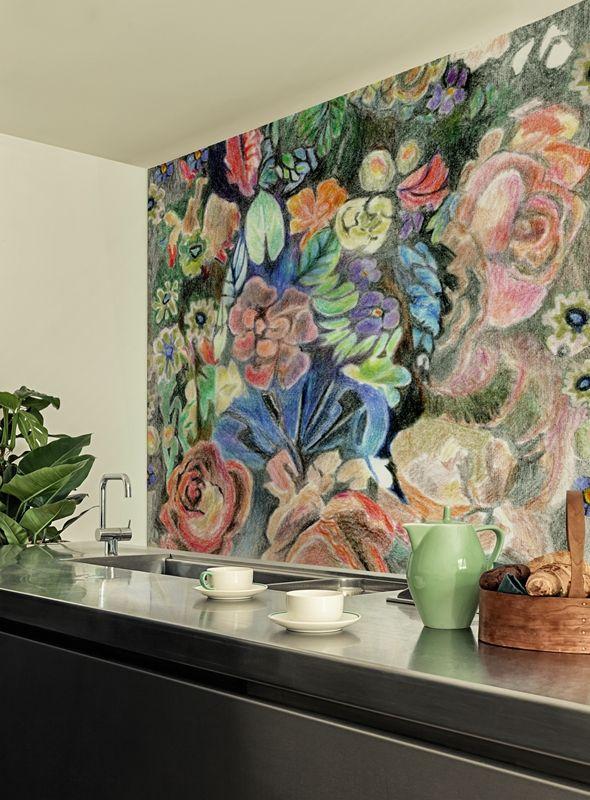 laundry room - Wall & Decò - Carte da parati per l'arredo contemporaneo