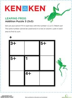 52 best images about Number Puzzles - KenKen on Pinterest | Dragon ...