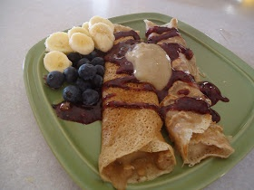 Today's Daniel Fast Recipe: Whole Wheat Crepes