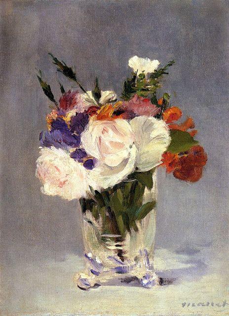 Λουλούδια σ΄ένα κρυστάλλινο βάζο (1882)