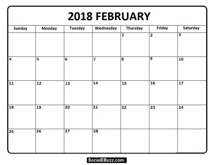 Best  February Calendar Ideas On   Free Calendar