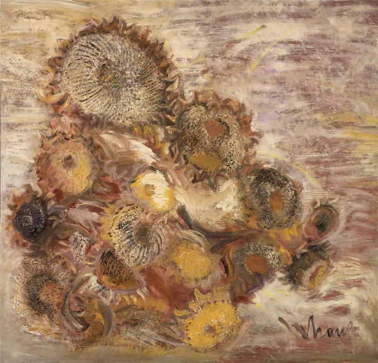 """Sunflowers"" by Orhan Peker $80.000"