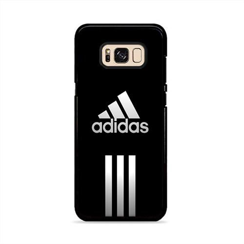 sports shoes a6e18 712d3 Adidas Logo Black Samsung Galaxy S8 Plus Case | Caserisa | Samsung ...