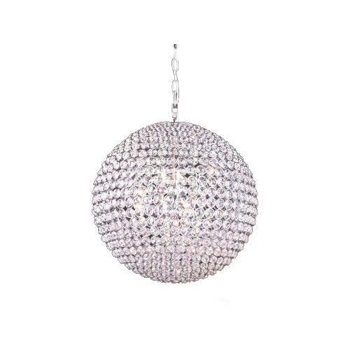Fiorentino Lighting Crystal Ball Cmigoni Chandelier