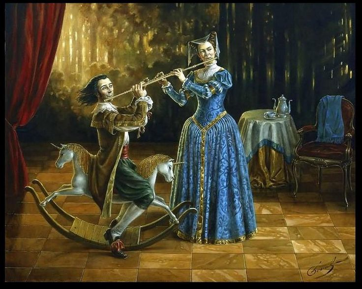 picturesque famous living artists today. Michael Cheval is one of the world s most famous contemporary artists  working in direction 24 best Artist images on Pinterest Horse