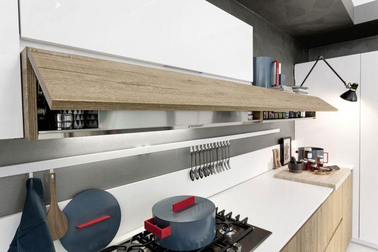 Magika line. Great minimalist, modern kitchen cabinets