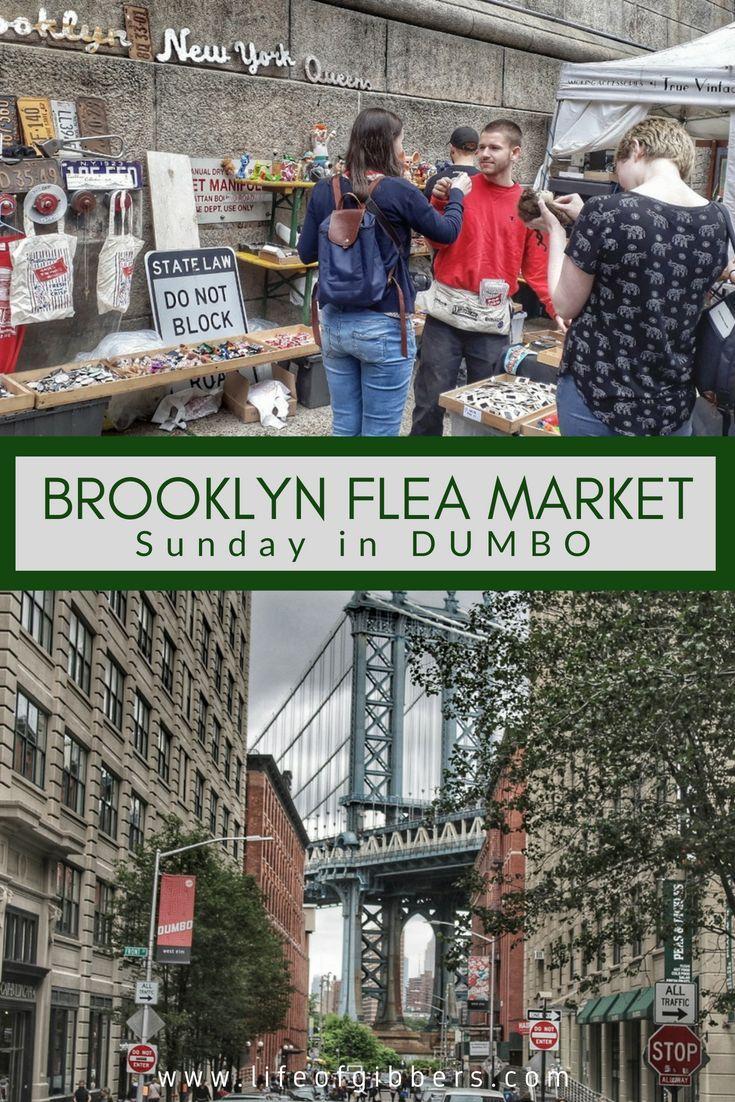 Brooklyn Flea Market - Sunday in DUMBO   AMWF - Travel