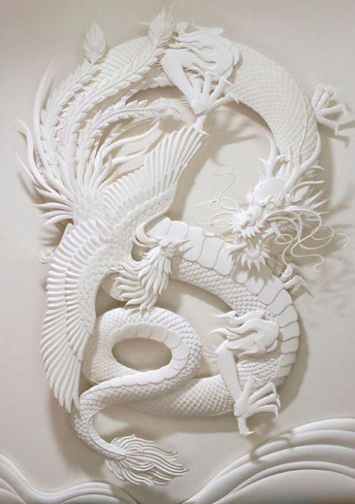 Nghệ thuật điêu khắc... giấy siêu đẳng