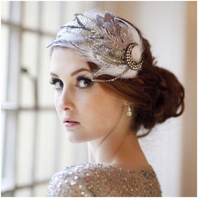 Gatsby hair decoration - live this! So vintage looking! :)
