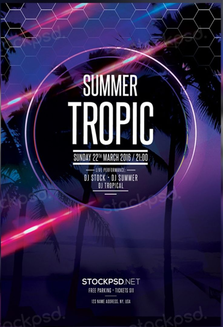 17 best images about bie psd flyer flyer summer tropic psd flyer template psd flyer psd