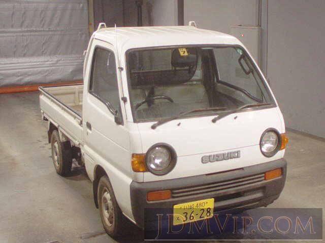 1996 SUZUKI CARRY TRUCK KU DD51T - http://jdmvip.com/jdmcars