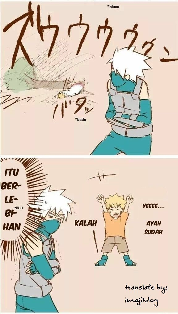 3 | Masa Kecil Naruto Bersama Ayah dan Kakak Kakashi
