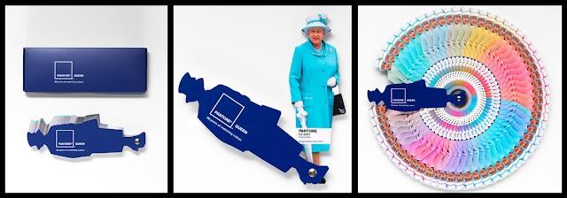 Advertising creativo. Il Pantone dedicato alla Regina Elisabetta: God save the Queen!