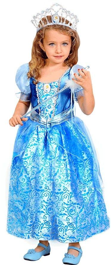 Голубое жакардовое платье Золушки на ребенка — http://fas.st/mUz5QC