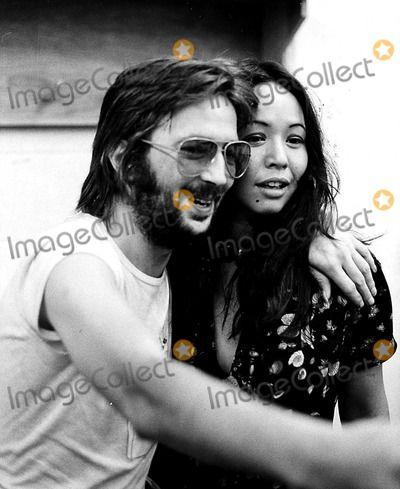Eric Clapton and Yvonne Elliman 1974 Tony DE ...