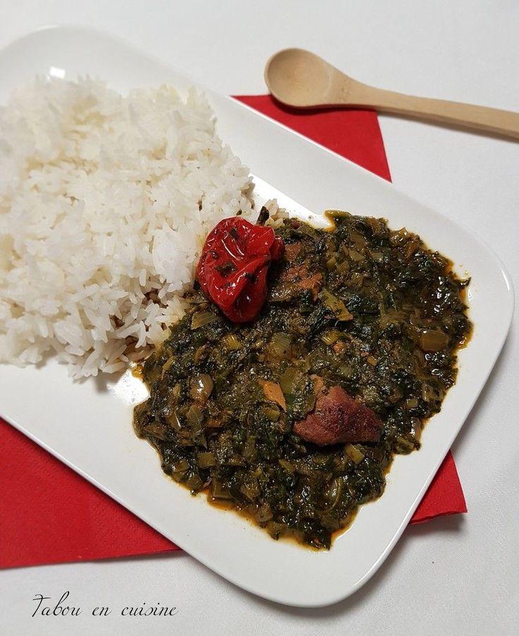 Saka saka (sauce feuille de manioc Ce plats d'…