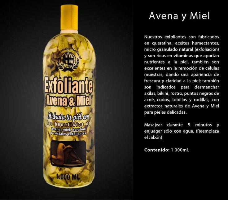 exfoliante Herbacol avena y miel para pieles delicadas